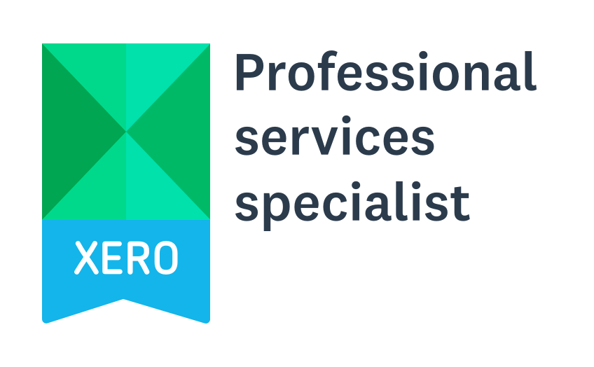 xero professional services specialist badge